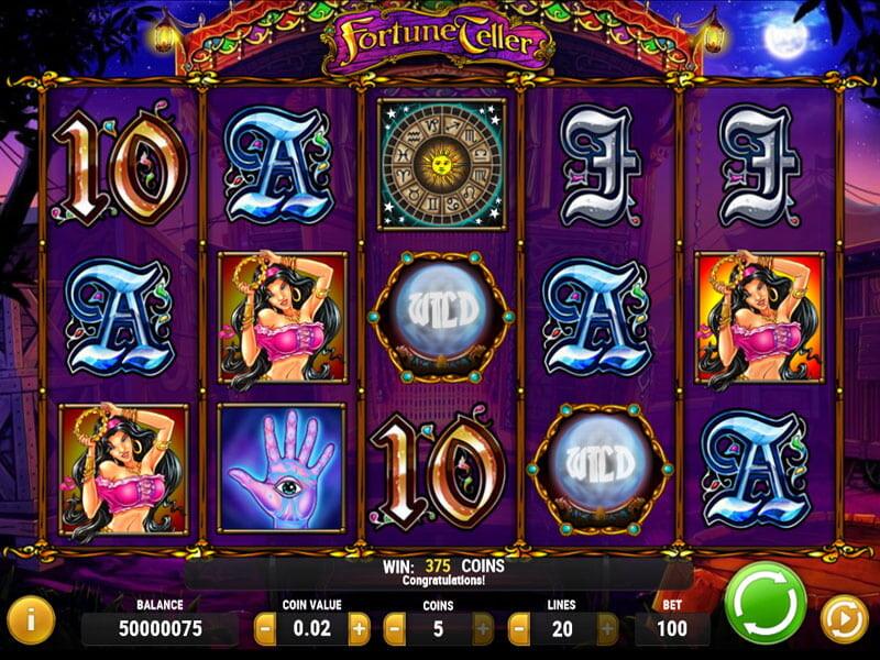 Fortune Teller online Slot – allgemeine Information