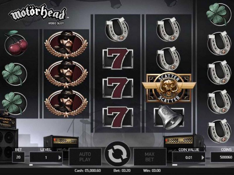 Motorhead Online Slot: Rockband verteilt Geschenke